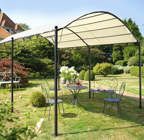 Introduction le guide de construction des pergolas et - Pergolas de hierro para jardin ...