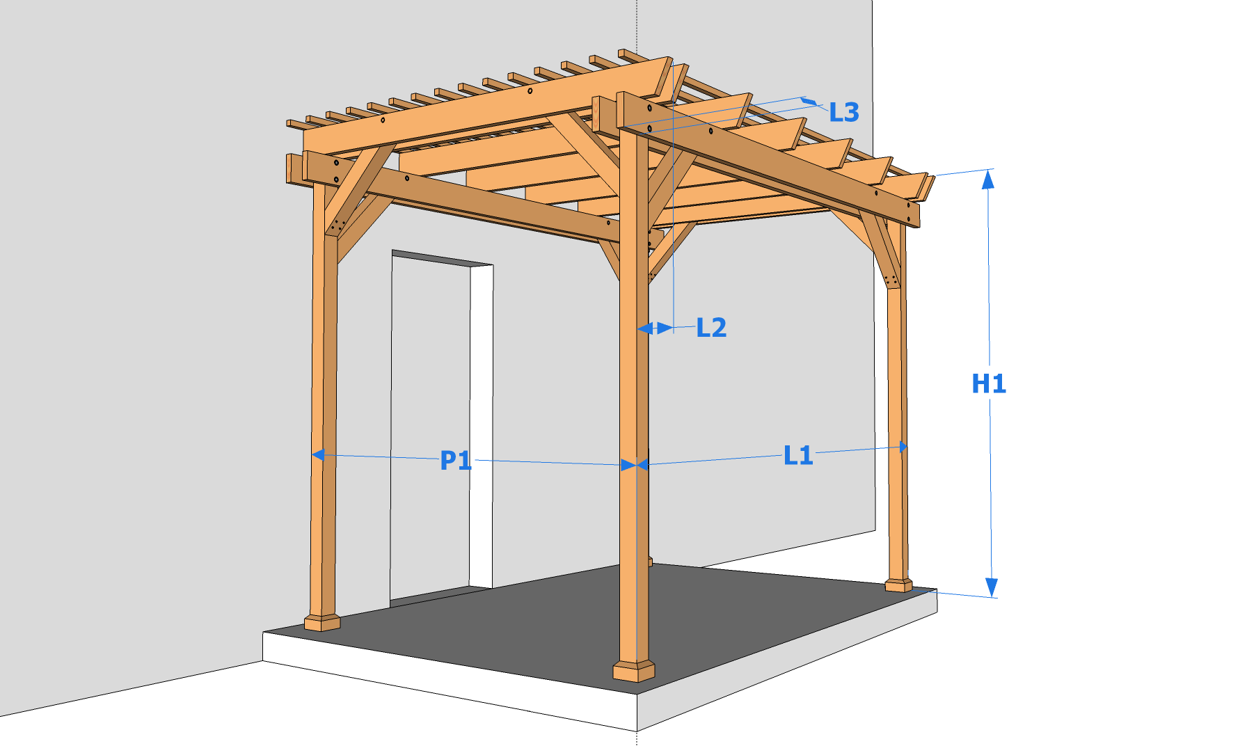 Construire Un Carport En Bois Soi Meme Interesting Gallery Of