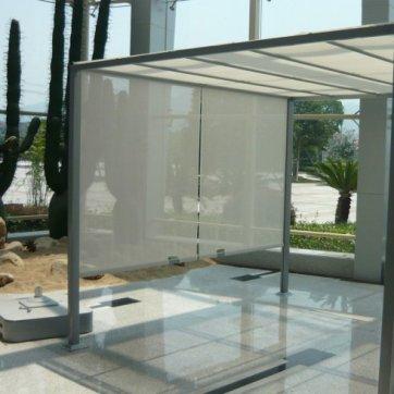 tonnelle acier tr s contemporaine. Black Bedroom Furniture Sets. Home Design Ideas