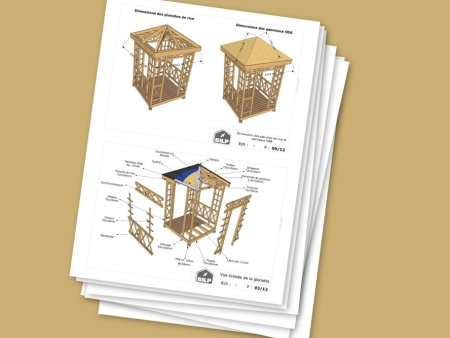 Plans de pergola à télécharger